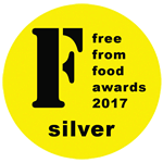Free from awards 2017 silver medal for our Goji and Pumpkin Seed Pie!