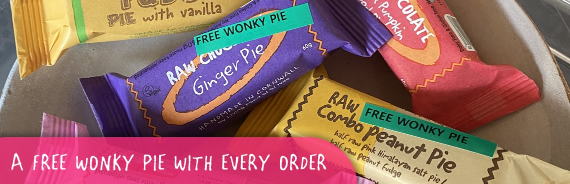 Free wonky pie with every order