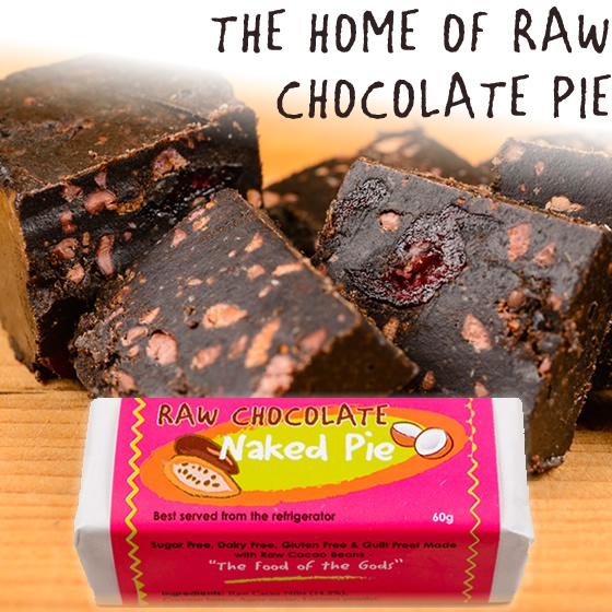 The home of raw chocolate pie