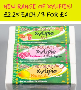New range of xylipies