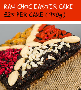 The Raw Chocolate Easter Cake