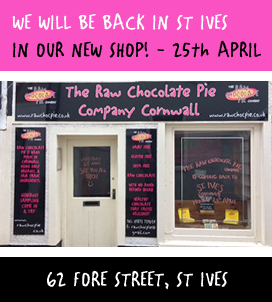 We will be back in St Ives from 25 April in our new shop