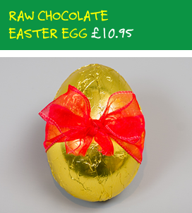 Raw Chocolate Easter Eggs