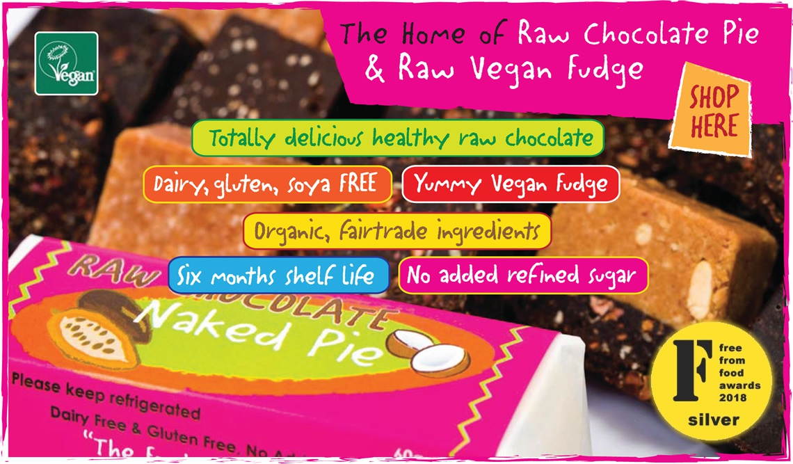 The home of Raw Chocolate Pie & Raw Vegan Fudge