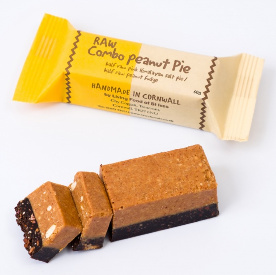 The Raw Combo Peanut Pie