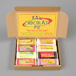 The Raw Chocolate Slice Box