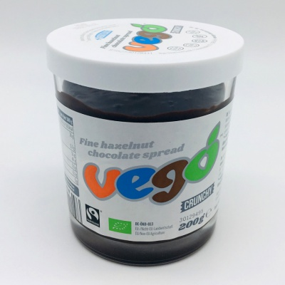Vego Hazelnut Chocolate Crunchy Spread