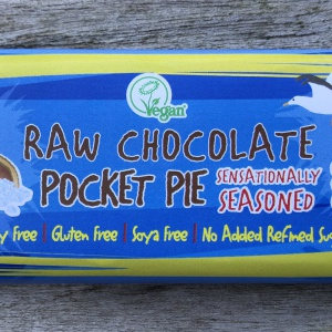 Raw Chocolate Pocket Pie - Sensationally Seasoned