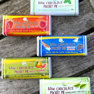 Raw Chocolate Pocket Pie - Pack of 5