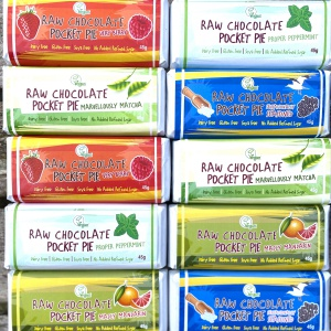 Raw Chocolate Pocket Pie - Pack of 10