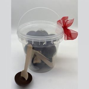 The Tub of Raw Hot Choc Bombs